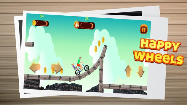 Happy Wheels game race screenshot 1
