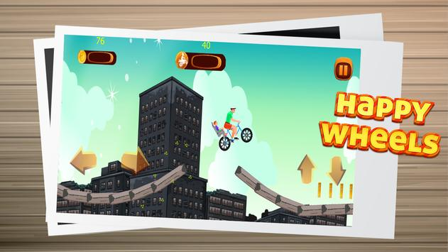 Happy Wheels game race screenshot 2