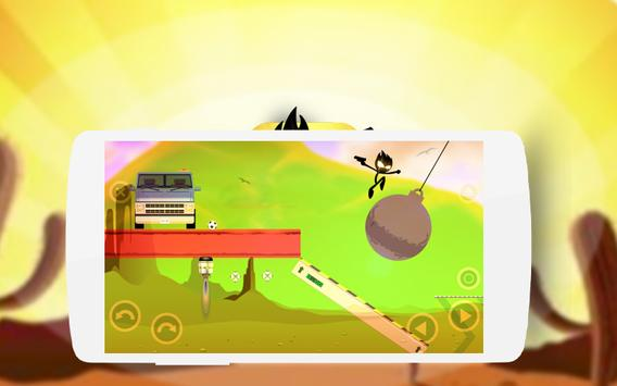 Stickman Happy Wheels apk screenshot