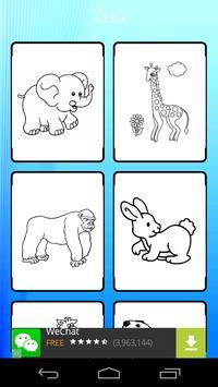 Happy Zoo Coloring screenshot 5