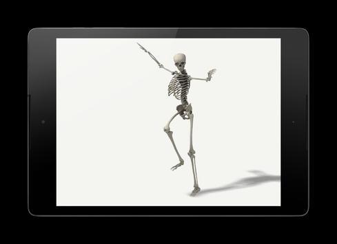 Dancing Skeleton Wallpaper poster