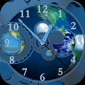 World Clock 3D Live Wallpaper icon