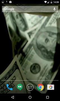 Money Video Live Wallpaper HD apk screenshot