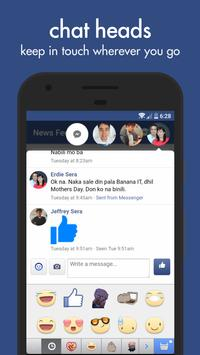 Swipe for Facebook apk screenshot