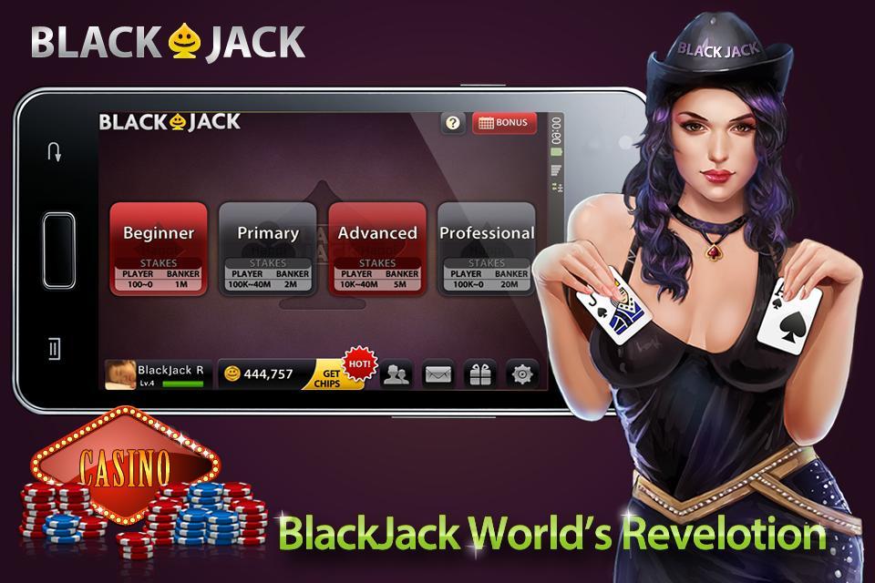 BlackJack 21— Free live Casino poster