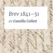 Brev 1841–51 Camilla Collett icon