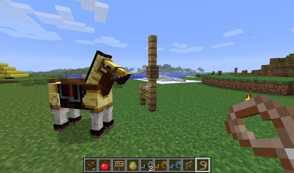 Horse Armor Mod Minecraft poster