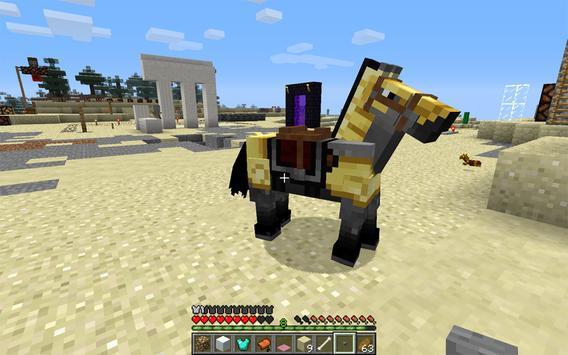 Horse Armor Mod Minecraft apk screenshot
