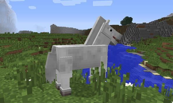 Amazing Horse Mods Minecraft poster