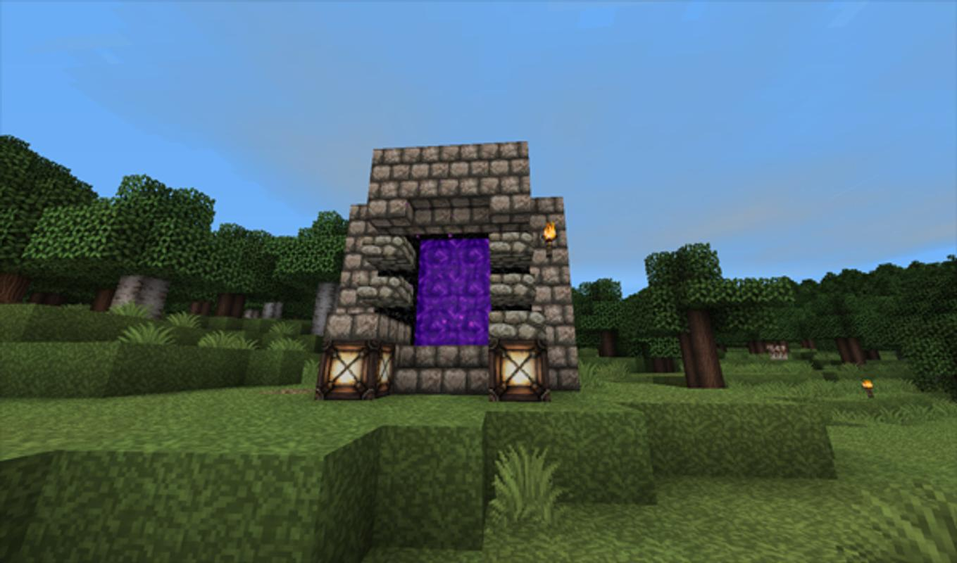 how to build all minecraft portals