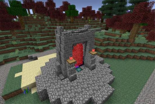 Amazing Portal Mods Minecraft poster