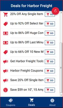 Coupons for Harbor Freight Tools screenshot 3