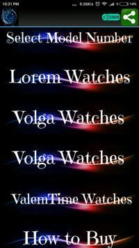 Harcallo Watches poster