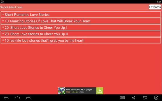Stories About Love screenshot 1