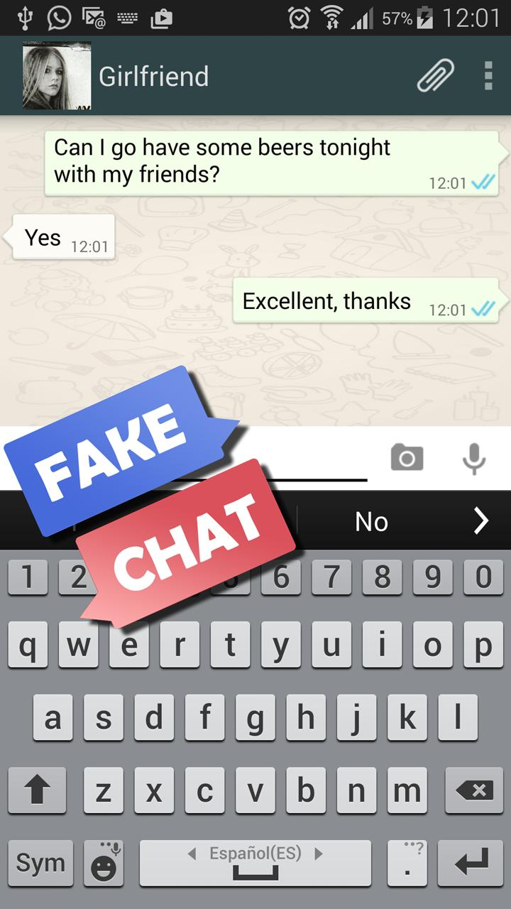 Simulator app chat fake How to