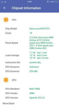 CPU Information Pro apk screenshot