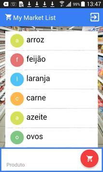 My Market List apk screenshot