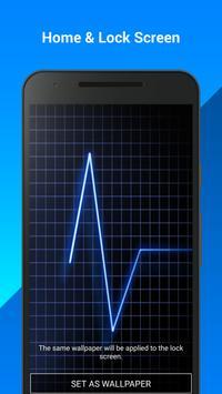Heart Rate Live Wallpaper apk screenshot