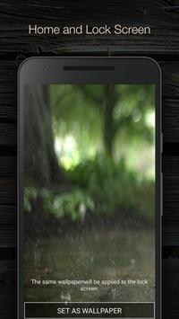 Real Rain Live Wallpaper apk screenshot