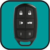 Car Remote Key Control prank icon
