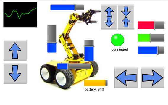 RoboRemo screenshot 2