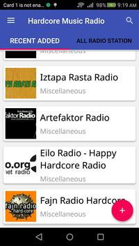 Hardcore Music Radio apk screenshot