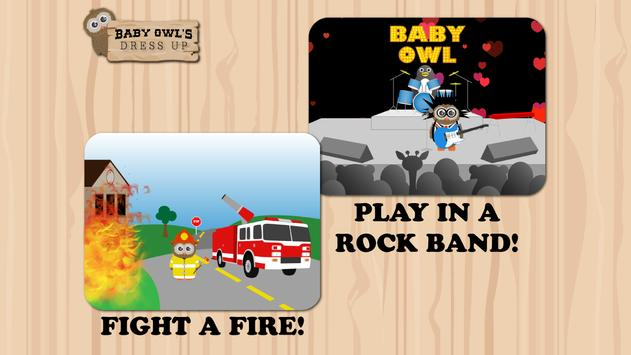 Baby Owl's Dress Up apk screenshot