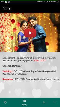 Nikhil weds Asha apk screenshot