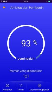 Pembersih Virus dan Sampah apk screenshot
