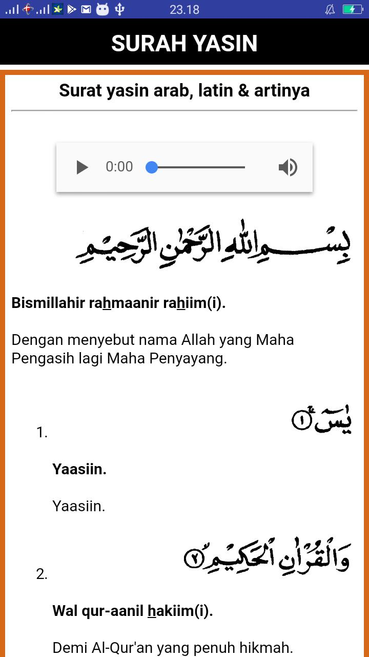 Bacaan Surat Yasin Dan Tahlil Lengkap For Android Apk Download