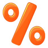 Math Percentages Practice icon