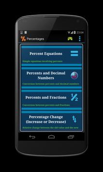 Math Percentages Practice screenshot 2