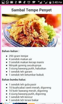 Resep Sambal Pedas Nusantara screenshot 1