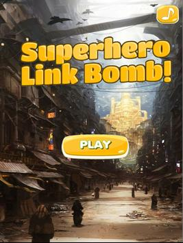 Superhero Links Bomb Game poster
