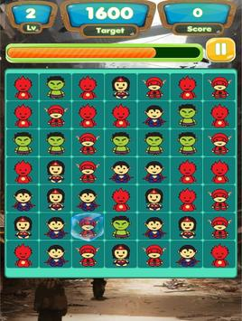 Superhero Links Bomb Game screenshot 2