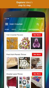 Irish Crochet screenshot 1