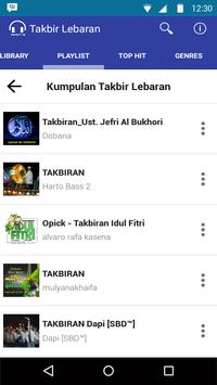 Mp3 Takbir Lebaran 2016 Full screenshot 4