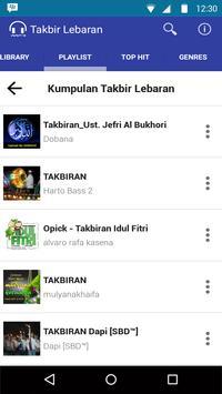 Mp3 Takbir Lebaran 2016 Full screenshot 1