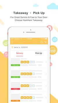 HarkHark - Asian food delivery & travel coupon apk screenshot