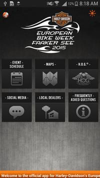 European Bike Week® apk screenshot
