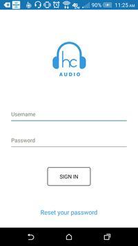 HC Audio poster