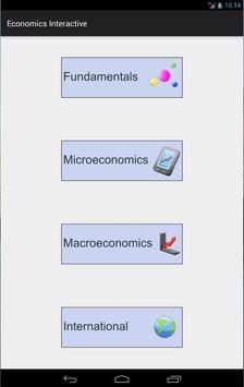 Economics 4 Tablet screenshot 7