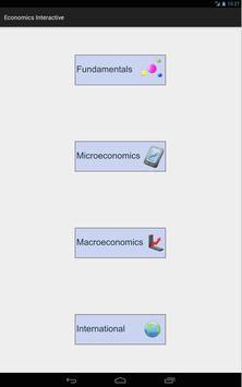 Economics 4 Tablet screenshot 1