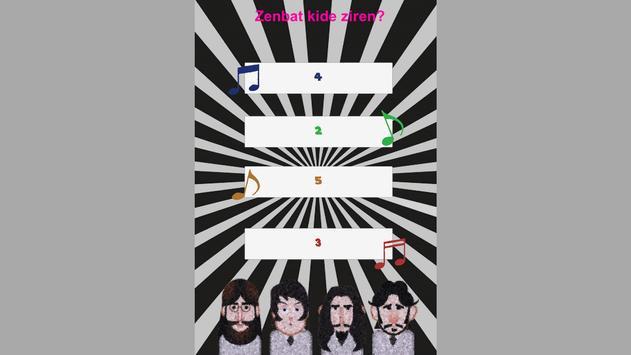 The Beatles Galdetegia poster