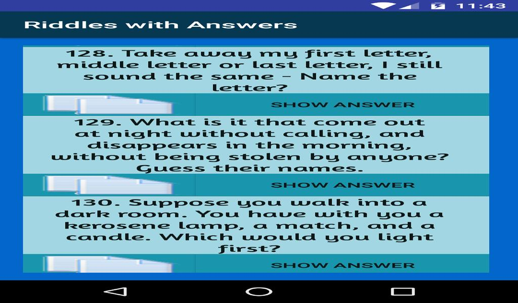 Riddles Games With Answers for Android - APK Download