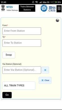Train Running Status poster