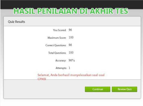 Kumpulan Soal CPNS Terlengkap screenshot 5
