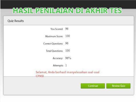 Kumpulan Soal CPNS Terlengkap screenshot 8