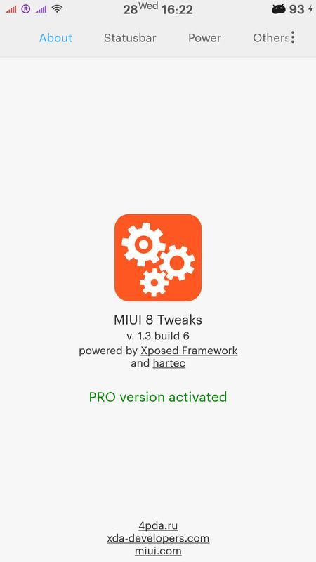 Miui 8 tweaks [xposed] для андроид скачать apk.