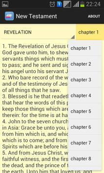 NASB Bible apk screenshot
